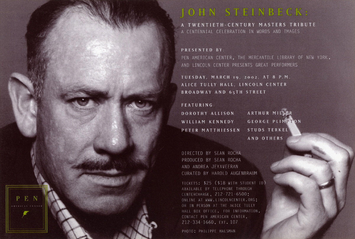 an introduction to the life and literature by john steinbeck John steinbeck's place within american literature  the rest of my time is a brief introduction to john steinbeck—who  john steinbeck's life was.
